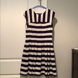 Navy Striped Vince Camuto Dress